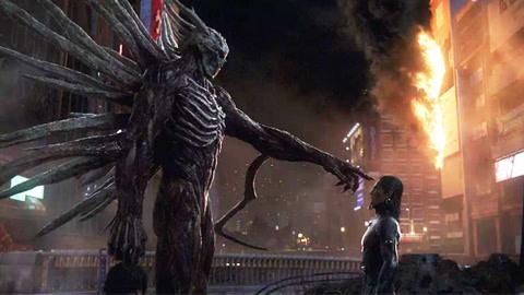 菜鸟男主险胜超强怪兽竟是因为光环强大《杀戮都市》电影笔记219