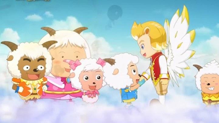 喜羊羊与灰太狼之飞马奇遇记 MV4:宣传曲五月天《天使》