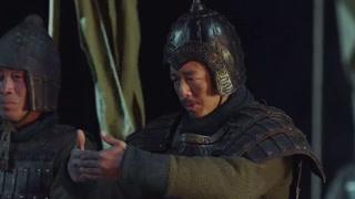 王翦成功突破楚军左侧防线
