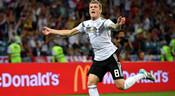克罗斯绝杀,德国2-1瑞典