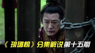 琅琊榜分集解说第15期:誉王谋逆失败,梅长苏寻得聂锋