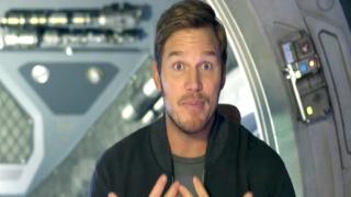《银河护卫队2》花絮之Chris Pratt Shows You Around the Set