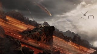 佛罗多两人被困岩浆中 甘道夫快来帮忙救人啊