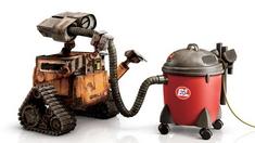 机器人总动员 动画短片之Wall-E与吸尘器