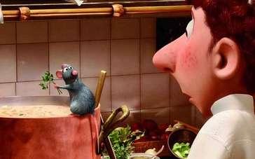 《美食总动员》片段 老鼠做汤