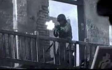 《集结号》 片段之狙击手掩护