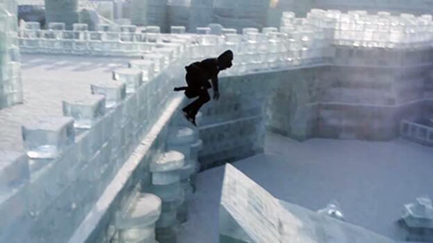大神冰雕跑酷飞檐走壁 专治各种不服