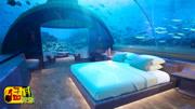 实拍世界最奢侈的海底酒店,住一晚上要花35万,真壕啊!