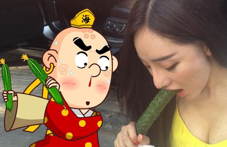 来来来 猜猜女生买黄瓜是用来做什么的
