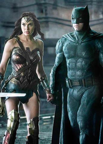 《正义联盟》内地定档预告 神奇女侠蝙蝠侠等组团来战