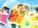 《哆啦A梦:大雄的南极冰冰凉大冒险》曝地球危机版预告  真假哆啦A梦同台对决