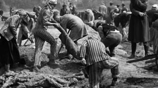 犹太人大屠杀 尸灰漫天荡漾