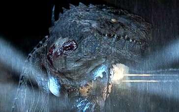 《哥斯拉》精彩片段 人类军队最终制服巨大怪兽