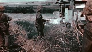 刚登陆的美军被潜伏的日军打了个措手不及,美军指挥系统已混乱!
