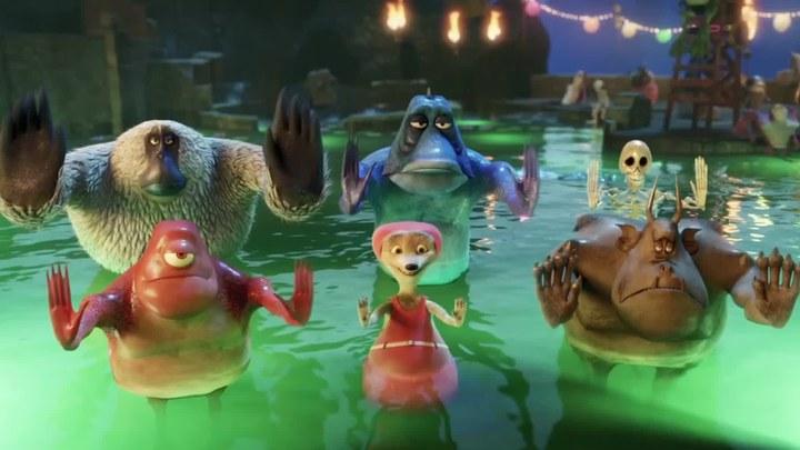 精灵旅社 片段6:Water Aerobics