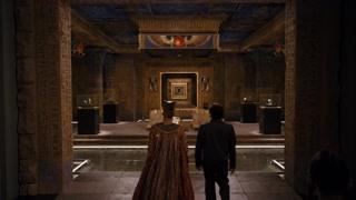 到达埃及馆 埃及王子再见母亲