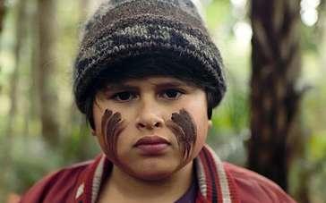 《追捕野蛮人》美国版预告片 胖小子丛林探险记