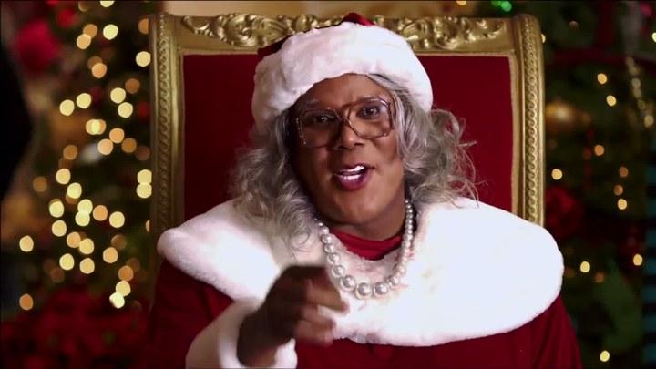 黑疯婆娘的圣诞节 预告片1