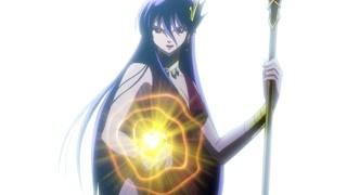 超强的邪神厄里斯 圣斗少女被打得体无完肤