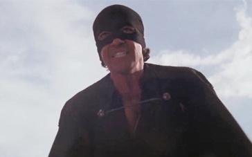 《佐罗的面具》片段 正义使者佐罗马背上驰骋杀敌