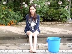 张娜拉冰桶挑战