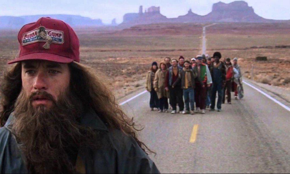 谷阿莫:6分钟看完1994小傻瓜爱上你的电影《阿甘正传》