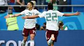 小豌豆破门,墨西哥2-1战胜韩国
