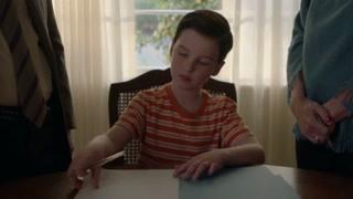 《小谢尔顿》生活需要规矩 谢尔顿小小年纪签下人生的第一个合同