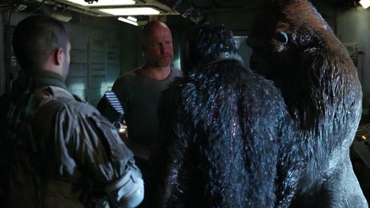 猩球崛起3:终极之战 片段1:感性的凯撒 (中文字幕)