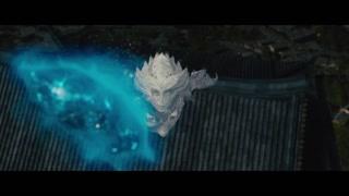 雪妖与张道仙大战魔灵近在咫尺