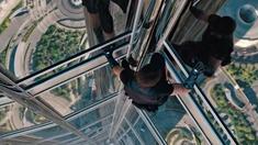 碟中谍4 片段之徒手攀爬迪拜塔
