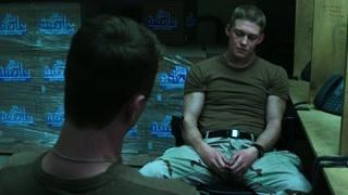 班长劝林恩重回战场  但是并没有谁是天生的军人