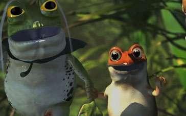 《青蛙总动员》终极预告 动物家族踏上冒险之旅