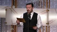 第68届金球奖颁奖礼 热维斯介绍汤姆·汉克斯&蒂姆·艾伦登场