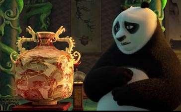 《功夫熊猫3》台版片段 大闹英雄殿篇