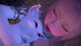 好可爱的狐狸仔!! 少年妖王表示美色误人哈哈哈!