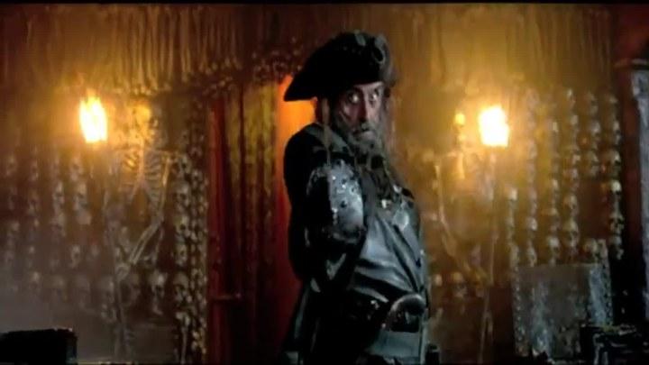 加勒比海盗4:惊涛怪浪 片段