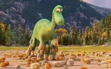 《恐龙当家》精彩片段 地鼠成群结队包围小恐龙