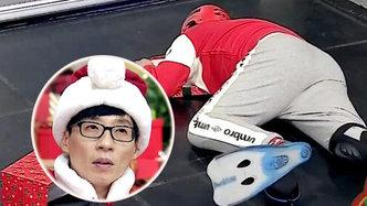 刘在石争夺圣诞老人装扮权