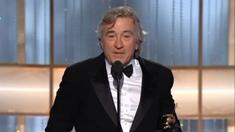 第68届金球奖颁奖典礼 罗伯特·德尼罗获终身成就奖
