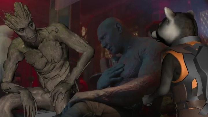 银河护卫队 删节:Drunk Drax