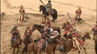 《还珠格格》蒙丹含香私奔被追击 蒙丹命悬一线