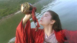 李连杰林青霞水中饮酒豪情万丈
