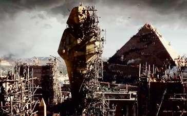 《法老与众神》拍摄特辑 古埃及景致真实再造还原