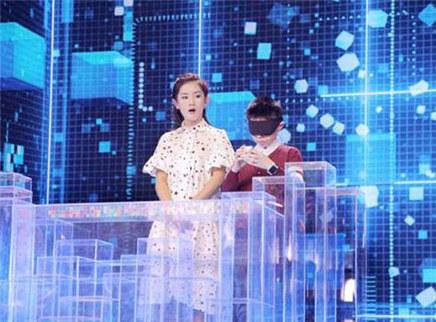 第8期魔方少年盲拧惊艳谢娜