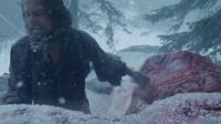 《荒野猎人》 小李子剖开马肚 赤膊钻进马腹取暖