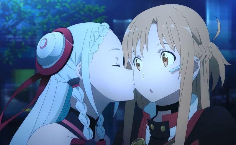 《刀剑神域序列之争》预告 虚拟偶像强吻亚丝娜