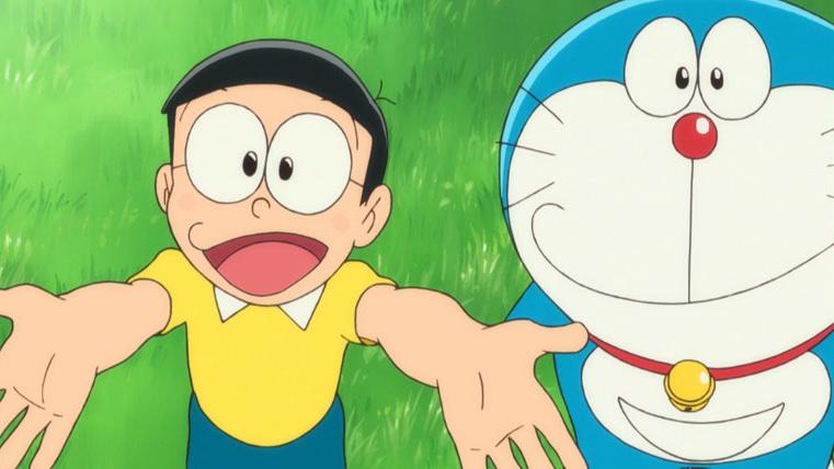 《哆啦A梦:大雄的新恐龙》齐唱经典主题曲