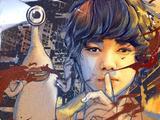 《寄生兽》曝手绘版海报 超长预告现人兽大战