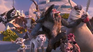 冰川时代4(片段)海贼王歌唱团